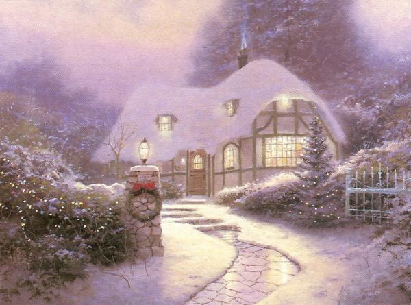 Christmas Cottage 1990