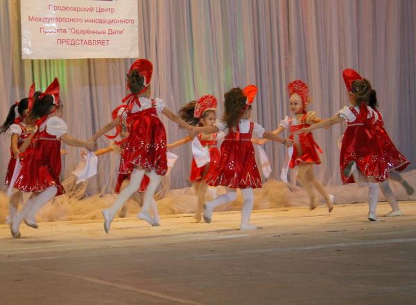 Конкурс одаренные дети хореография