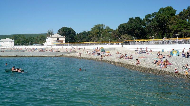 07 Пляж в Дивноморском