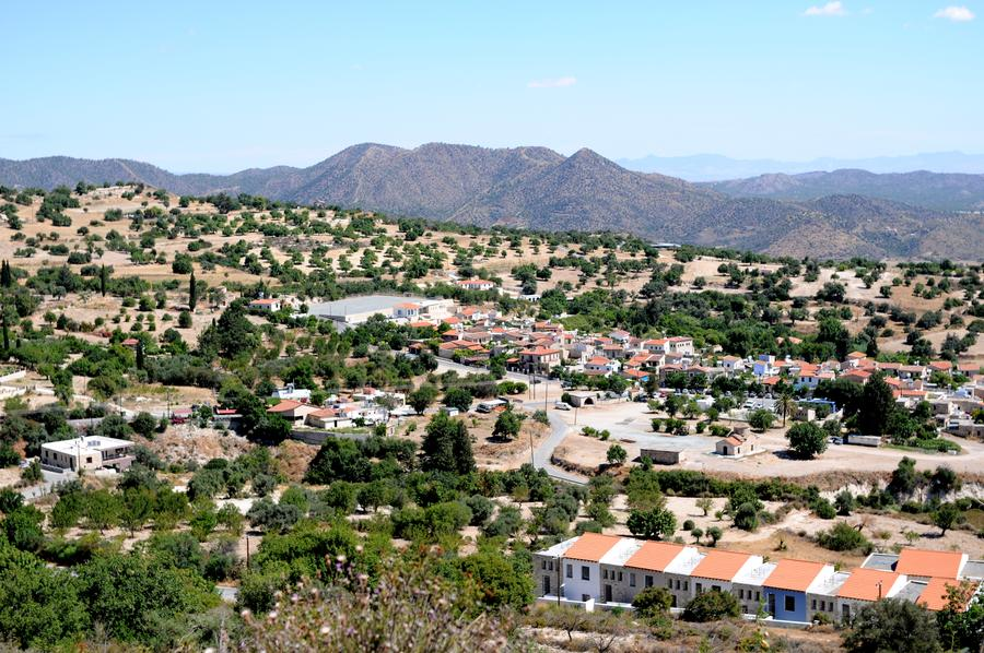 Деревня Лефкара
