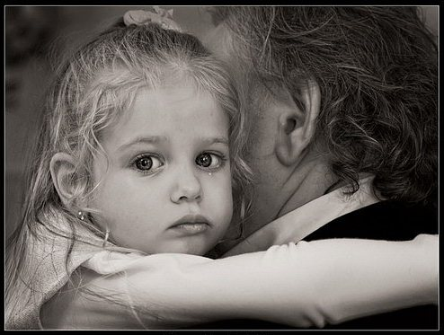 Девочка и отец