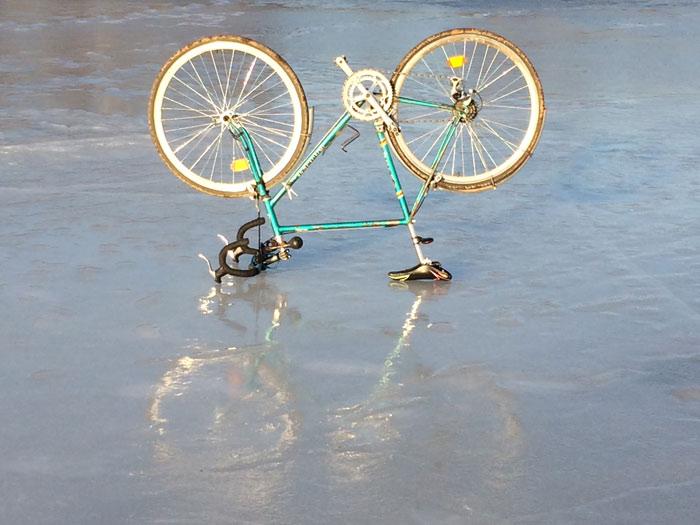 Велосипед-на-льду