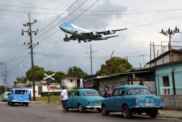 Обама над Гаваной