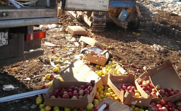 Подвиг бравых путинских конрразведчиков. ФСБ обезвредила 2 тонны вражеских яблок и томатов
