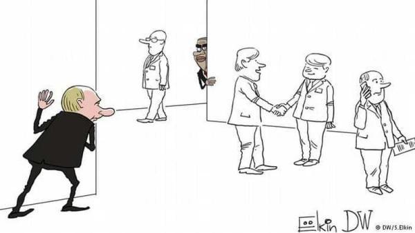 Путин подстерегает