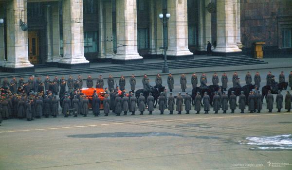 Похороны Сталина. Гроб