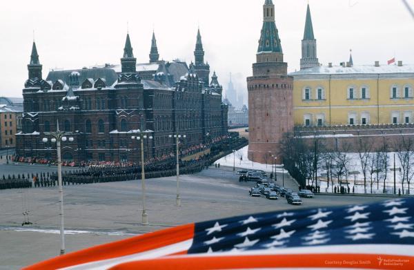 Похороны Сталина. Флаг