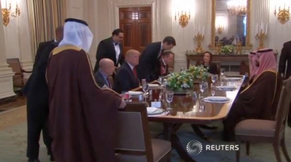 Саудиты и Трамп