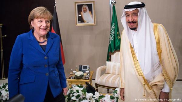 Ангела Меркель и король