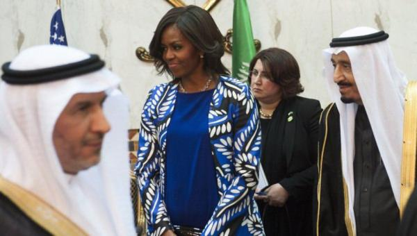 Мишель Обама и Король
