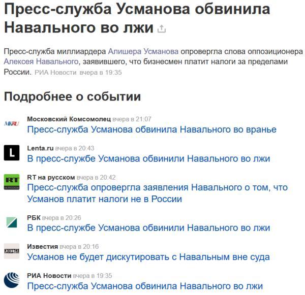 Яндекс лжёт