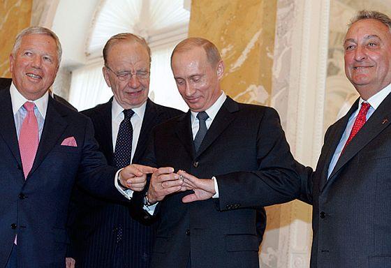 Кольцо у Путина