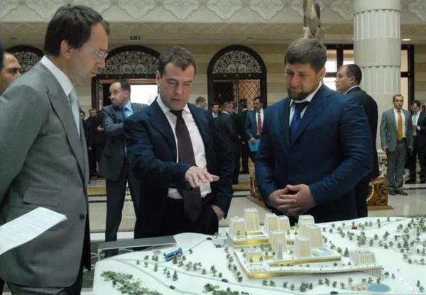 Байсаров, Медведев, Кадыров