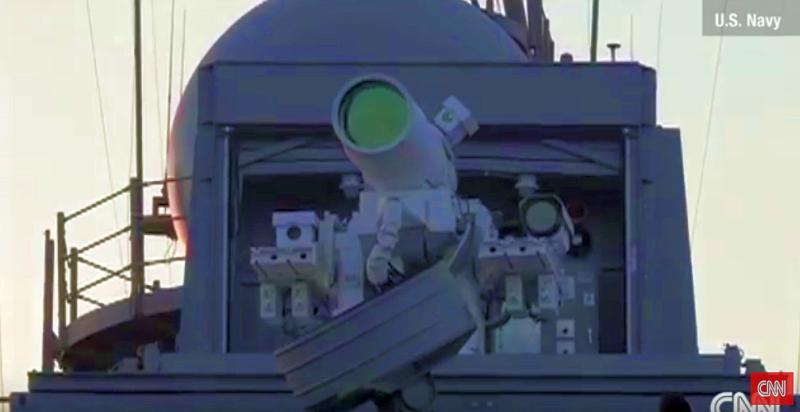 На корабель ВМС США встановлять перший бойовий лазер, здатний уражати невеликі судна і безпілотники - Цензор.НЕТ 3057