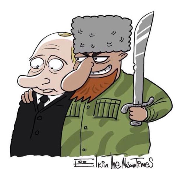 Кадыров простил Путина