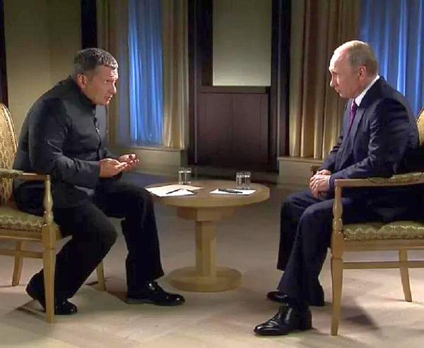 Путин и Соловьев 1