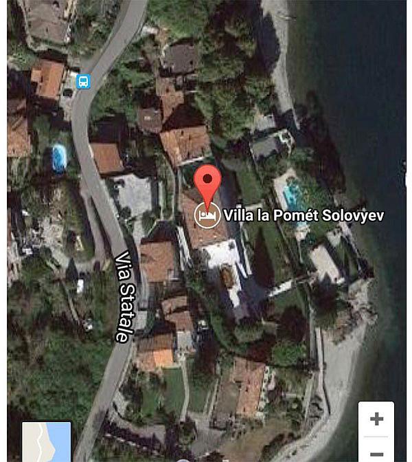 Google Maps сдал Соловьева