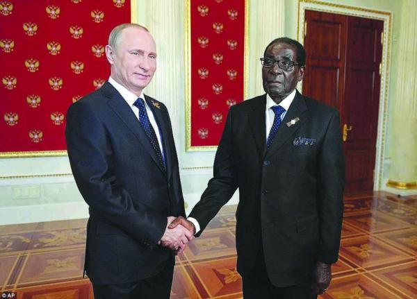 Ждём Мугабе в Москве