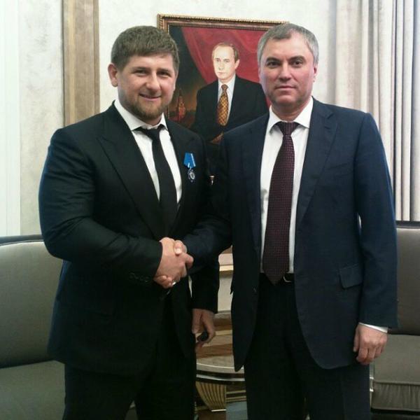 Володин и Кадыров