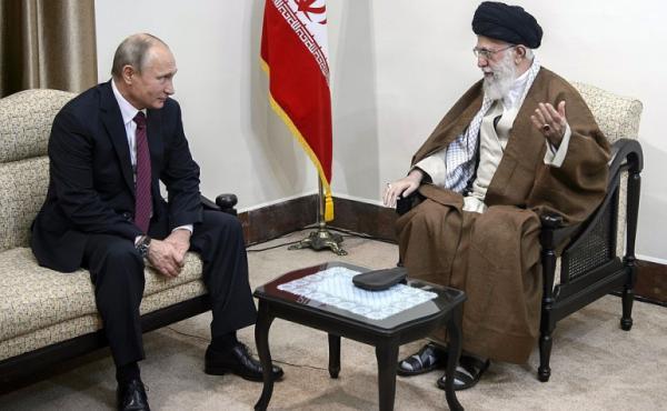 Встреча Путина и Али Хаменеи 3 ноября 2017