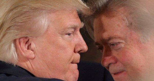 Трамп и Бэнон