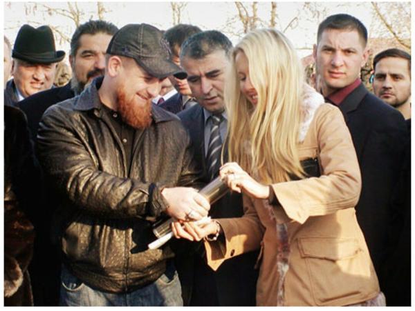 Собчак в Чечне