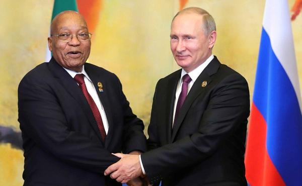 Путин и Зума