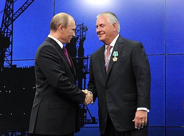 Путин и Тиллерсон