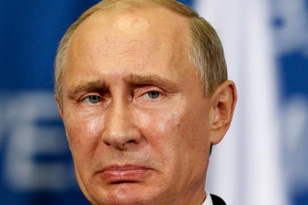 Обиженный Путин