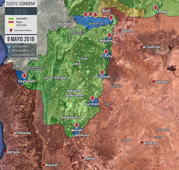 Турецкая зона в Сирии