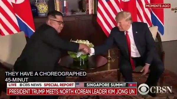 Трамп - Ким Чен Ын