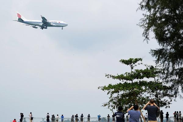 Самолет с Ким Чен Ыном