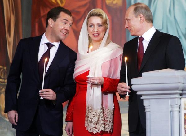 Первые леди Путина
