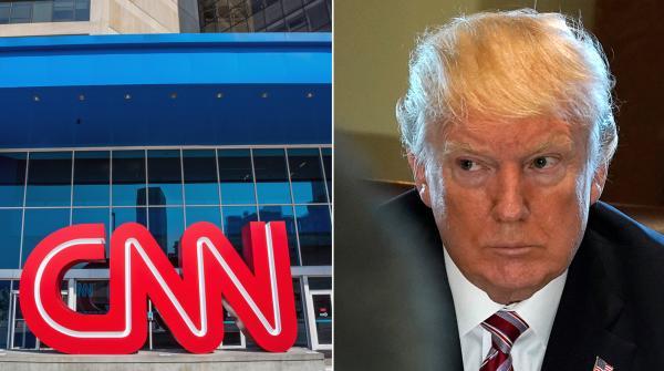 Трамп и CNN