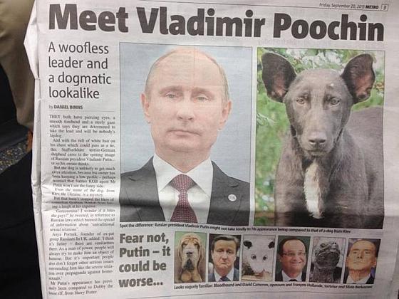 Собачий Путин
