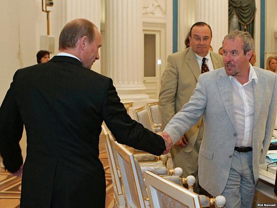 Макареыич и Путин