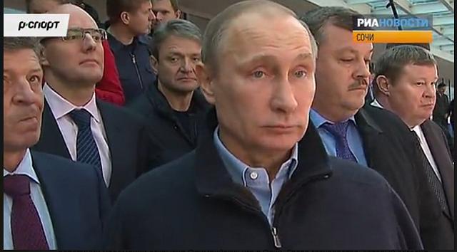 Путин в Сочи 2