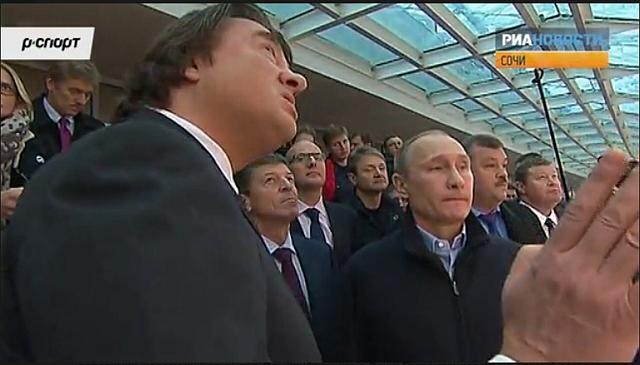 Путин в Сочи 4