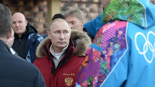 Путин в Сочи 10