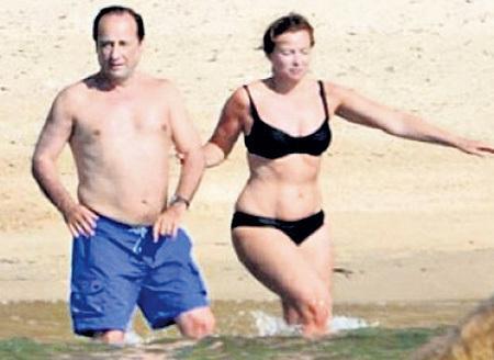 Олланд и его сожительница