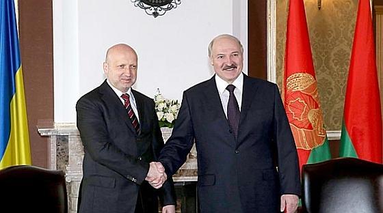 Турчинов и Лукашенко
