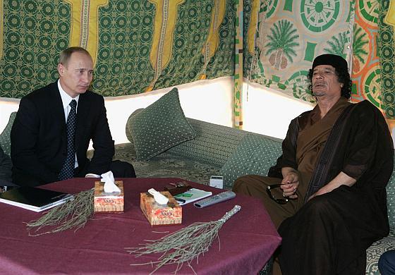 Путин и Каддафи - люди общей судьбы