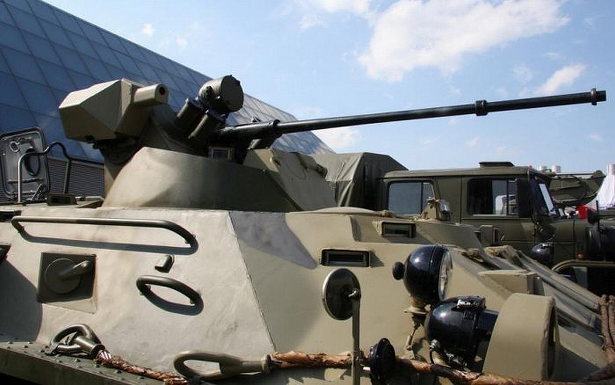 БТР-82АМ на заводе 1