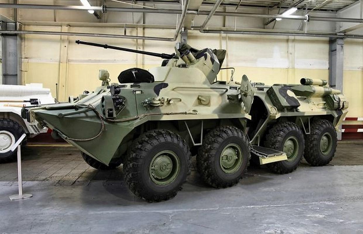 БТР-82 на заводе 2
