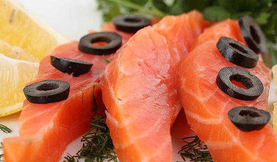 Вкусный норвежский лосось