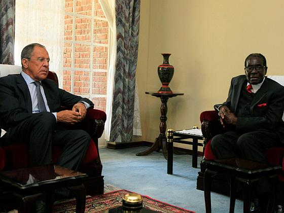 Лавров и Мугабе