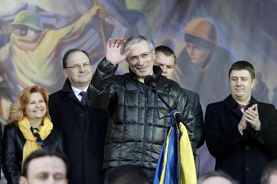 Ходорковский на Майдане