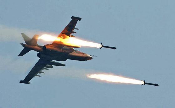 Су-25 атакует Путина