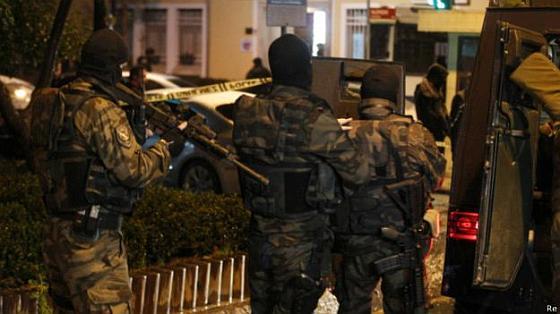 Турция, взрыв в полицейском участке