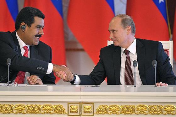 Мадуро и Путин